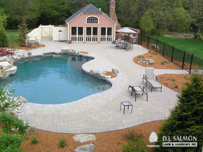 Pool and Outdoor Living Area Photo